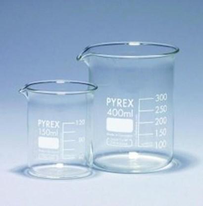 Slika za čaša staklo pirex niska 600ml braguirana bijelim pk/10