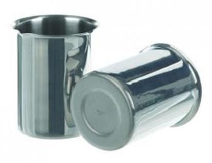 Slika za čaša ss 250ml s rubom i izljevom