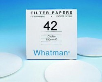 Slika za filter papir plava vrpca fi185mm vrlo spora filtracija pk/100