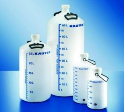 Slika za Aspirator bottles, series 350, PE-HD