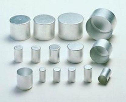 Slika za alu caps,aluminium,13x25mm high,pack/100