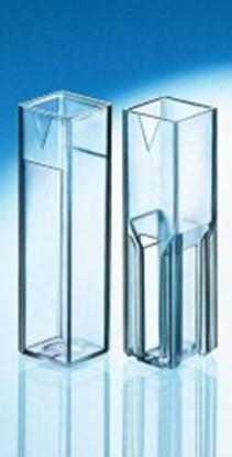 Slika za kivete makro ps/uv transparent 4 prozora 10mm pk/500