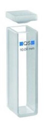 Slika za kiveta kvarc makro 100-qs 40mm 14ml 2 prozora+ptfe čep