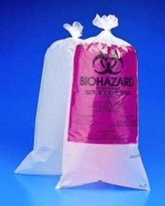 Slika za Biohazard waste bags, PE-HD