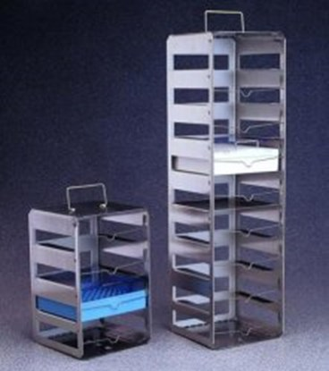 Slika za cryobox racks,st.steel,9 shelves
