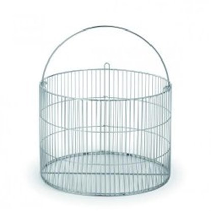 Slika za wire basket cv-28, stainless steel
