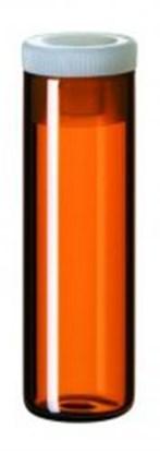 Slika za viali shell staklo smeđi nd15 4,0ml ravno dno+pe čep pk/1000