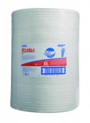 Slika za cleaning wipes wypall 42,5x23cm,white