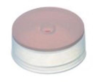 Slika za čepovi za viale krimp nd20 pe 9,1mm bijeli rupa+guma crvena/tef pk/1000