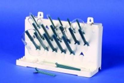 Slika za ocjeđivač za laboratorijsko suđe abs 178x390