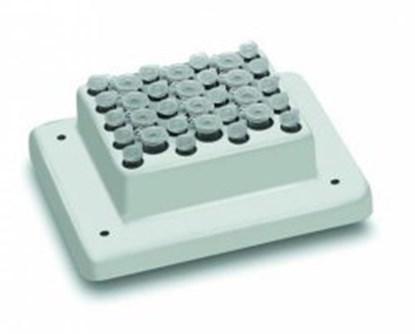 Slika za blok za termo tresilicu tip psc24n za mikroepruvete 1,5ml 24 mjesta