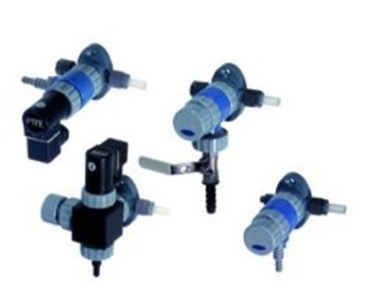 Slika za ball valve and flow-controlling diaphrag