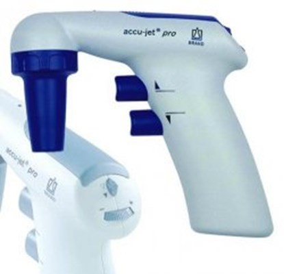 Slika za pipeta/kontroler za pipete 0,1-200ml tip accu-jet tamno plavi + punjač + nosač