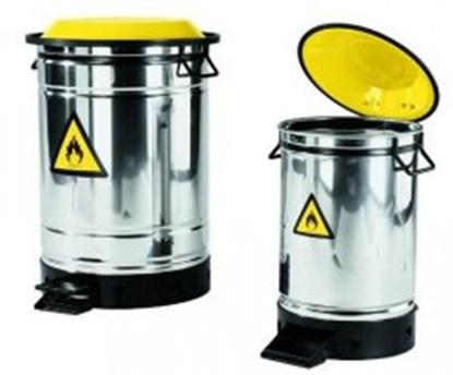 Slika za Disposal bin, stainless steel