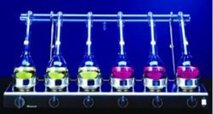 Slika za digestion apparatus with kjeldahl flasks