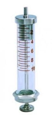 Slika za šprica staklo/sst 5ml graduirana smeđim 0,2ml