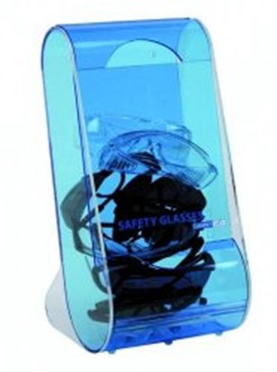 Slika za pretinac za naočale zaštitne plavi