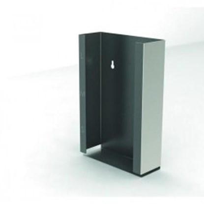 Slika za dispenser box, stainless steel, 4 compar
