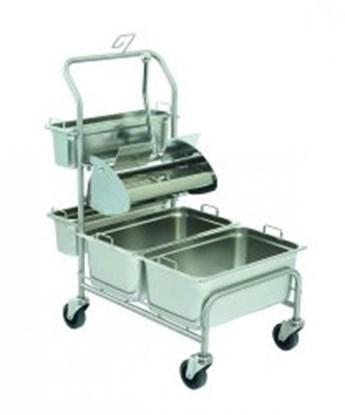 Slika za cleanroom trolley clino cr3 fp-gmp